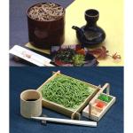 【ギフト】老舗茶屋の出雲そば・茶そば・特製めんつゆ